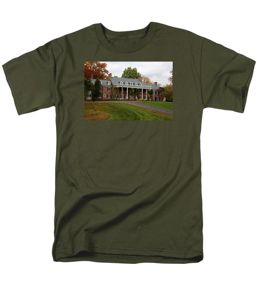 Wildwood Manor House In The Fall Men's T-Shirt  (Regular Fit) by Michiale Schneider