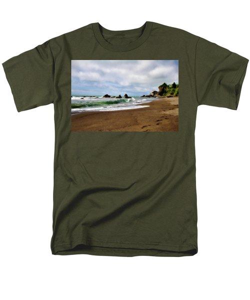 Wilson Creek Beach Men's T-Shirt  (Regular Fit) by Lana Trussell