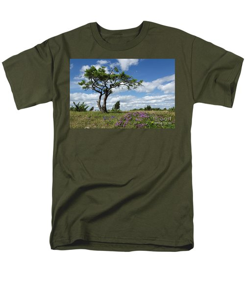Windblown Men's T-Shirt  (Regular Fit) by Kennerth and Birgitta Kullman