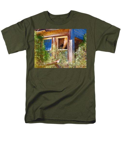 Men's T-Shirt  (Regular Fit) featuring the photograph Window 2 by Susan Kinney
