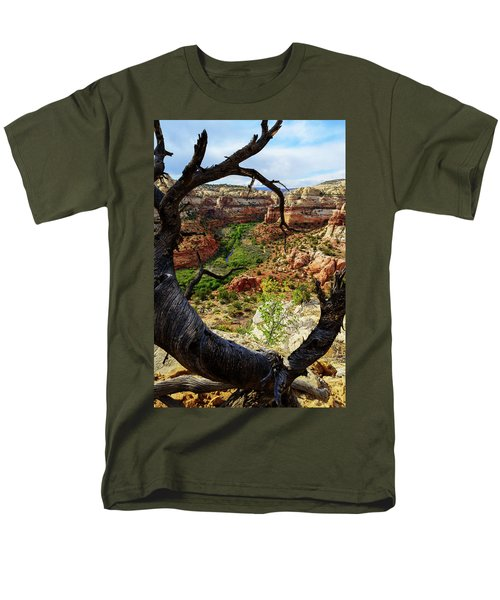 Men's T-Shirt  (Regular Fit) featuring the photograph Window by Chad Dutson