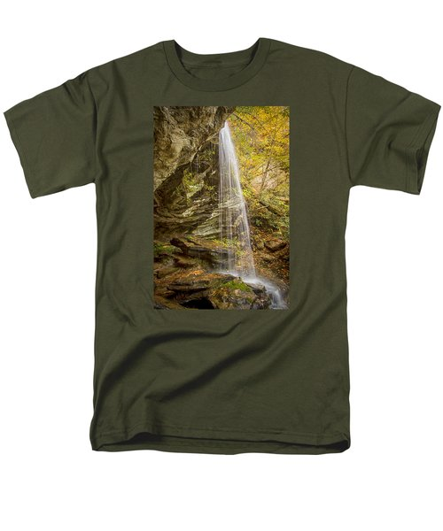 Window Falls In The Autumn Men's T-Shirt  (Regular Fit) by Bob Decker