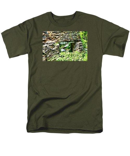 Window View Of Sope Creek Men's T-Shirt  (Regular Fit) by James Potts