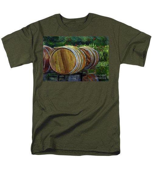 Wine Barrels Men's T-Shirt  (Regular Fit)