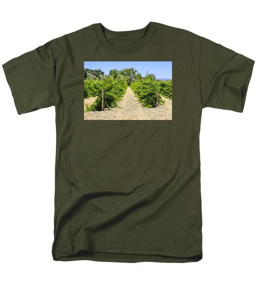 Wine On The Vine Men's T-Shirt  (Regular Fit) by Chris Smith