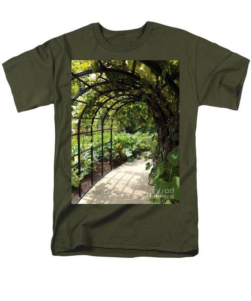 Wine Walk Men's T-Shirt  (Regular Fit) by Erick Schmidt