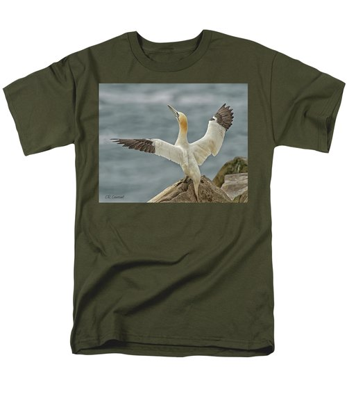 Wing Flap Men's T-Shirt  (Regular Fit) by CR Courson