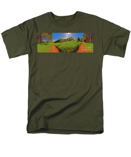 Wingate Prairie Men's T-Shirt  (Regular Fit) by Tom Jelen