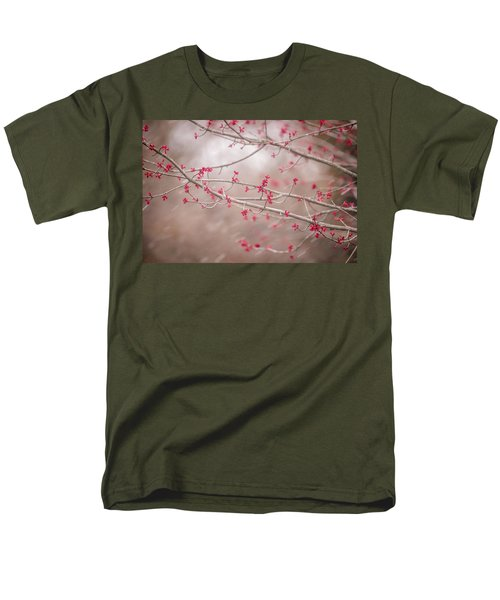 Men's T-Shirt  (Regular Fit) featuring the photograph Winter And Spring by Terry DeLuco