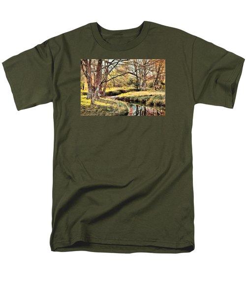 Winter Artistry Ap Men's T-Shirt  (Regular Fit) by Dan Carmichael