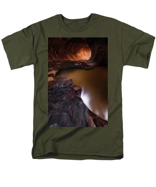 Winter Light Men's T-Shirt  (Regular Fit) by Dustin LeFevre