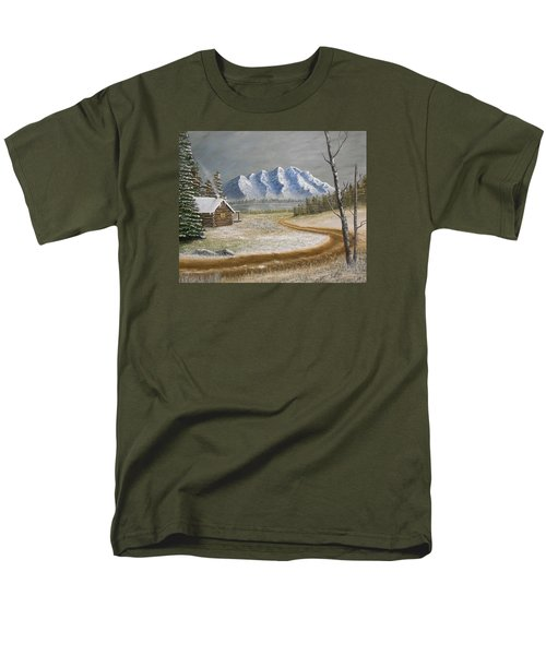 Winter's Arrival Men's T-Shirt  (Regular Fit) by Sheri Keith