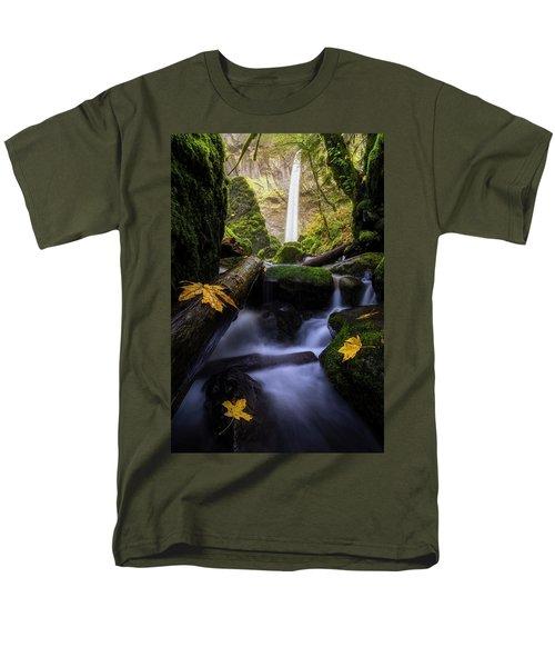 Wonderland In The Gorge Men's T-Shirt  (Regular Fit) by Bjorn Burton