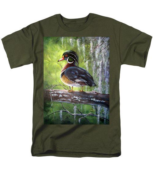 Wood Duck Men's T-Shirt  (Regular Fit)