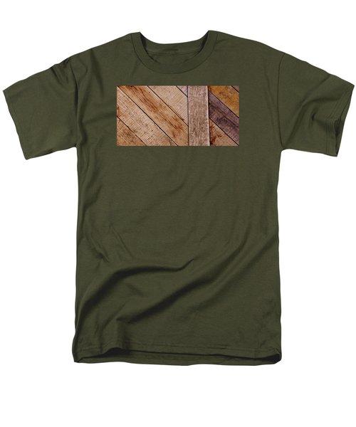 Men's T-Shirt  (Regular Fit) featuring the photograph Wooden Window Shutters by Werner Lehmann