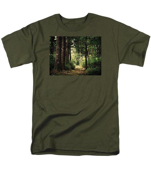 Woodland Hush Men's T-Shirt  (Regular Fit) by Joy Nichols