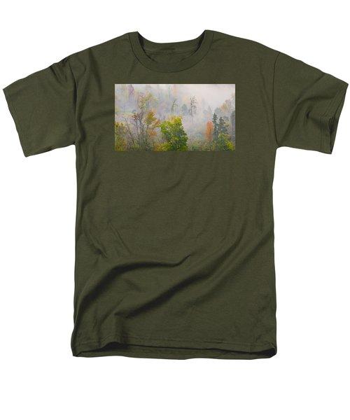 Woods From Afar Men's T-Shirt  (Regular Fit)
