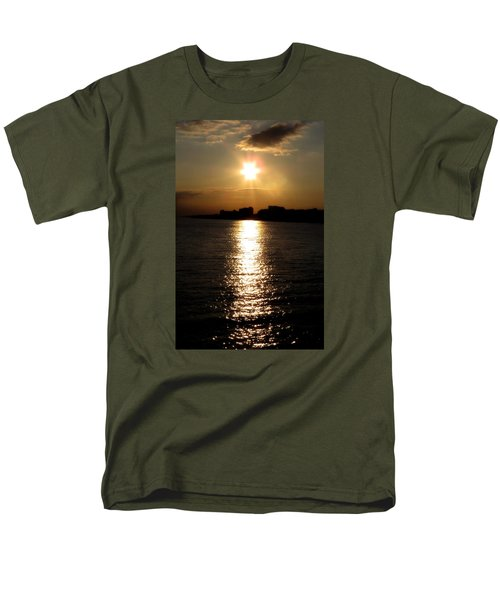 Worthing Sunset Men's T-Shirt  (Regular Fit) by John Topman