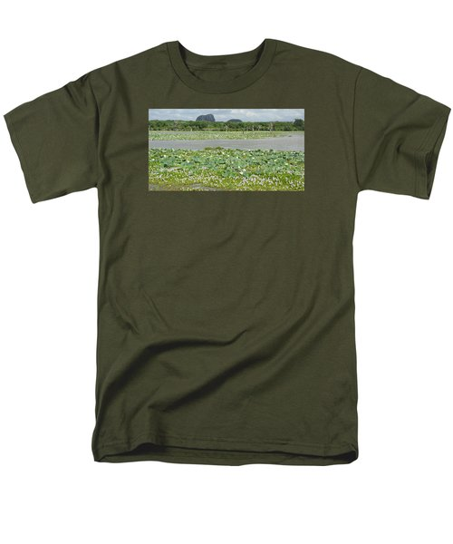 Men's T-Shirt  (Regular Fit) featuring the photograph Yala National Park by Christian Zesewitz