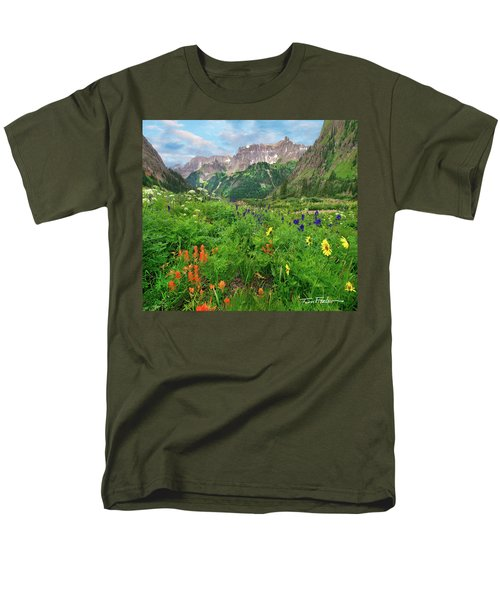 Yankee Boy Basin Men's T-Shirt  (Regular Fit) by Tim Fitzharris