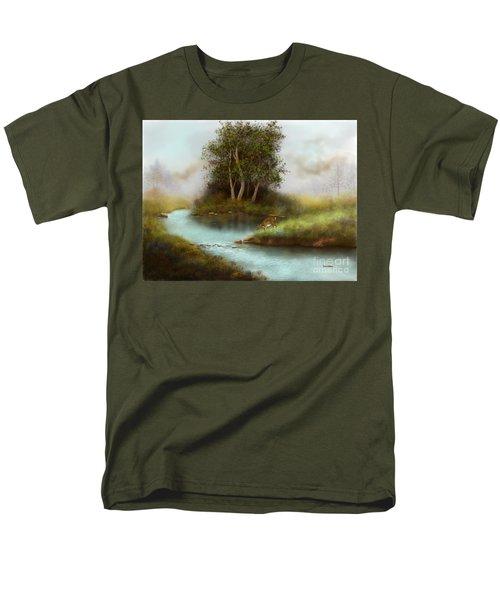 Yearling Men's T-Shirt  (Regular Fit) by Sena Wilson