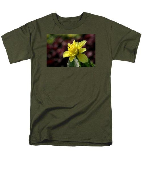 Yellow Bloom Men's T-Shirt  (Regular Fit) by Robert Och