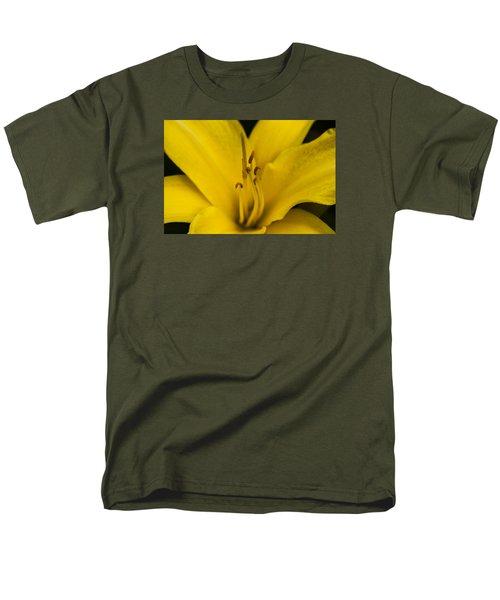 Yellow Men's T-Shirt  (Regular Fit) by Dan Hefle