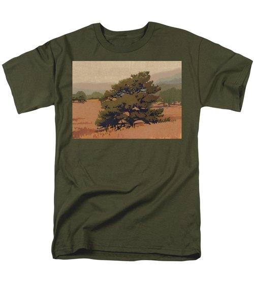 Yellow Pine Men's T-Shirt  (Regular Fit) by Dan Miller