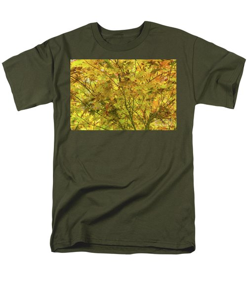 Yellow Spring Men's T-Shirt  (Regular Fit) by Iris Greenwell