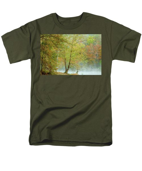 Yellow Trees Men's T-Shirt  (Regular Fit) by Iris Greenwell