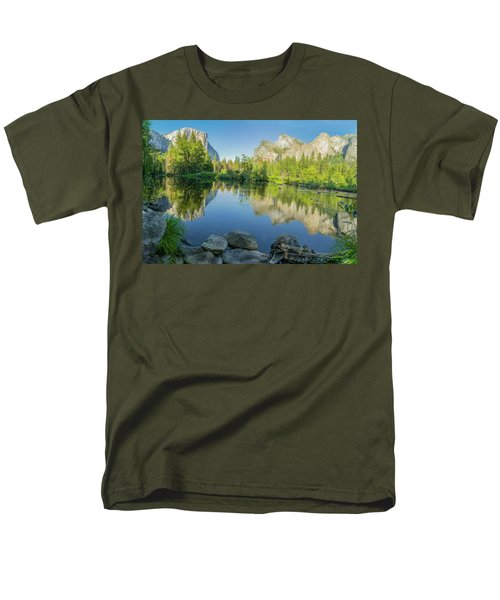 Men's T-Shirt  (Regular Fit) featuring the photograph Yosemite by RC Pics