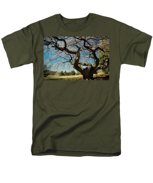 Men's T-Shirt  (Regular Fit) featuring the photograph Yoshino Cherry by Dana Sohr