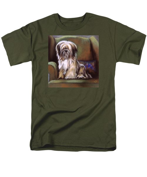 You Are In My Spot Again Men's T-Shirt  (Regular Fit) by Barbara Keith