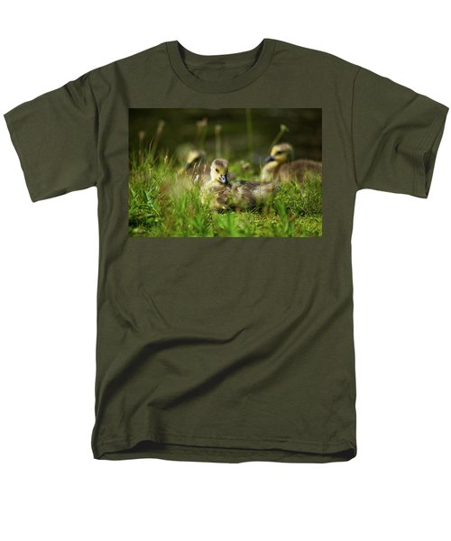 Men's T-Shirt  (Regular Fit) featuring the photograph Young And Adorable by Karol Livote