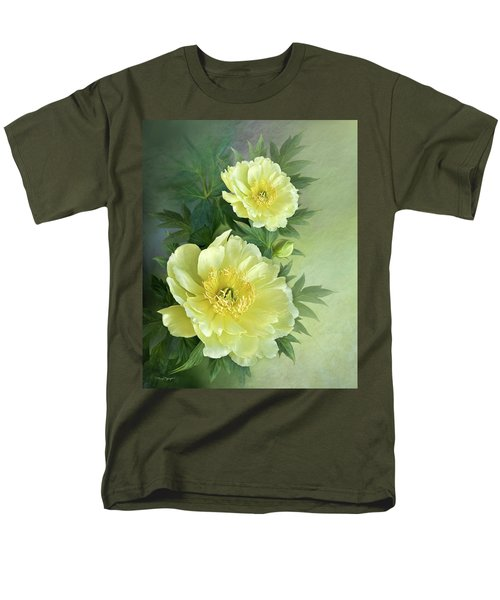 Yumi Itoh Peony Men's T-Shirt  (Regular Fit) by Thanh Thuy Nguyen