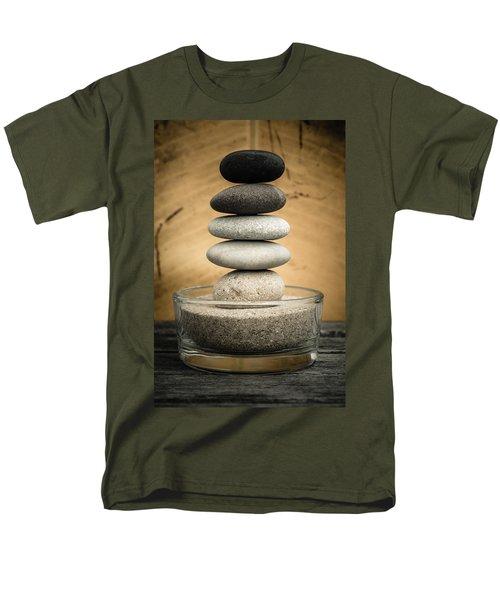 Zen Stones I Men's T-Shirt  (Regular Fit) by Marco Oliveira