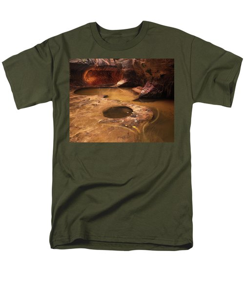 Men's T-Shirt  (Regular Fit) featuring the photograph Zion  by Dustin LeFevre