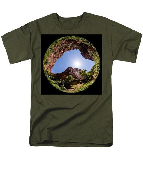 Zion Fisheye 1464 Men's T-Shirt  (Regular Fit)