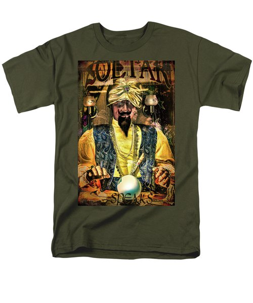 Men's T-Shirt  (Regular Fit) featuring the photograph Zoltar by Chris Lord