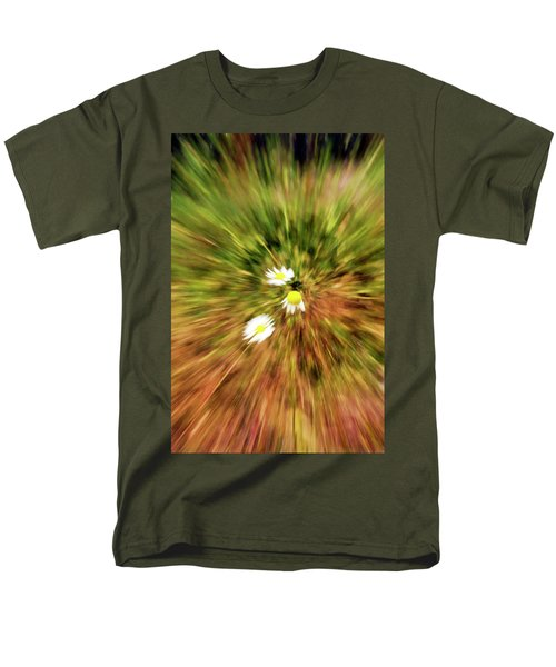 Zooming In Or Zooming Out Men's T-Shirt  (Regular Fit)