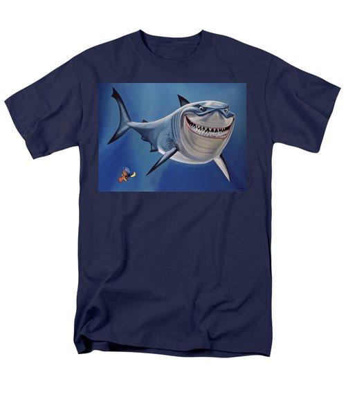 Finding Nemo Painting Men's T-Shirt  (Regular Fit) by Paul Meijering