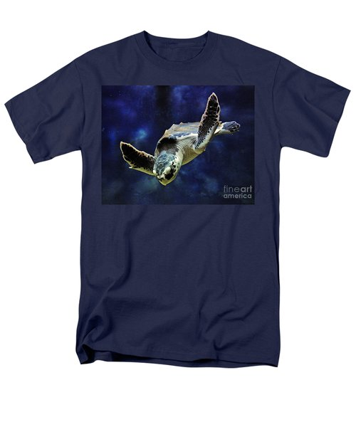 Men's T-Shirt  (Regular Fit) featuring the photograph  Sea Turtle by Savannah Gibbs
