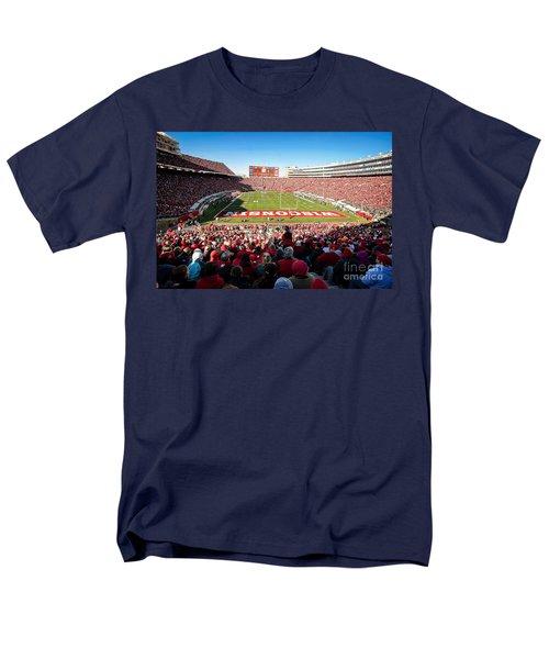 0814 Camp Randall Stadium Men's T-Shirt  (Regular Fit) by Steve Sturgill
