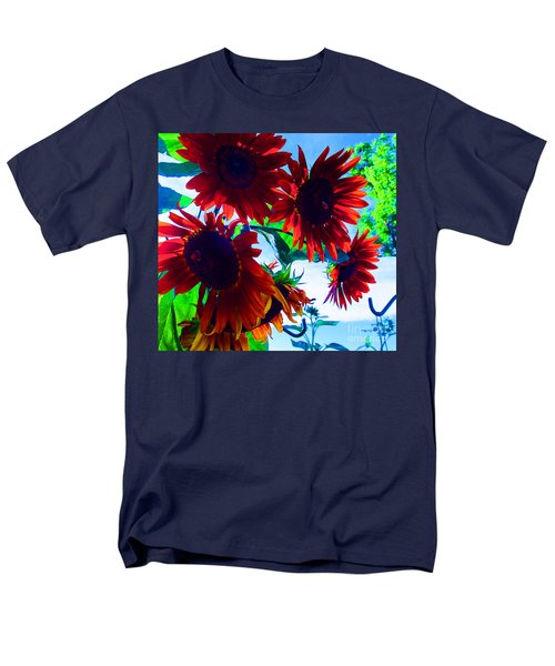 Men's T-Shirt  (Regular Fit) featuring the photograph All Together Now by Tina M Wenger