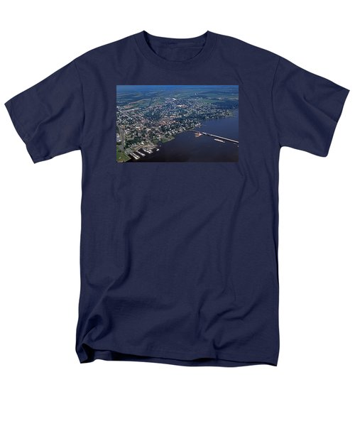 Chestertown Maryland Men's T-Shirt  (Regular Fit) by Skip Willits