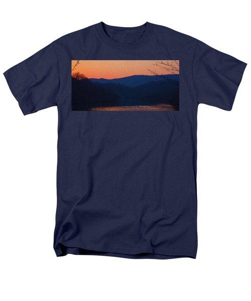 Days End Men's T-Shirt  (Regular Fit) by Tom Culver