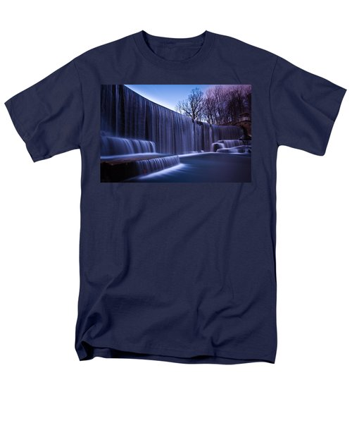 Men's T-Shirt  (Regular Fit) featuring the photograph Falling Water by Mihai Andritoiu