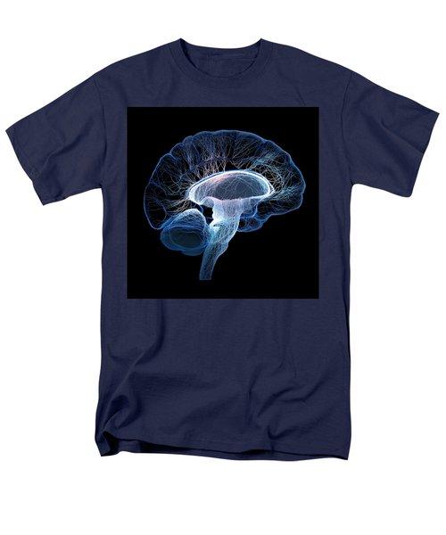 Human Brain Complexity Men's T-Shirt  (Regular Fit) by Johan Swanepoel