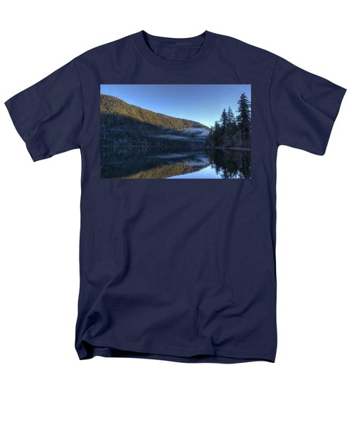 Morning Mist Men's T-Shirt  (Regular Fit) by Randy Hall