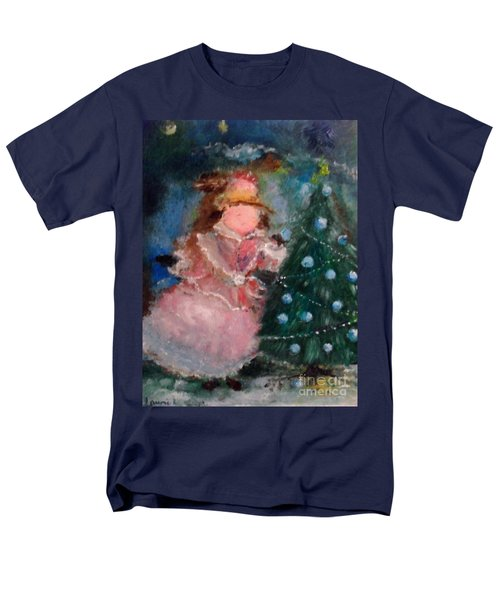 Mother Christmas Men's T-Shirt  (Regular Fit) by Laurie L